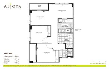 Floorplan of Aljoya Thornton Place, Assisted Living, Nursing Home, Independent Living, CCRC, Seattle, WA 2