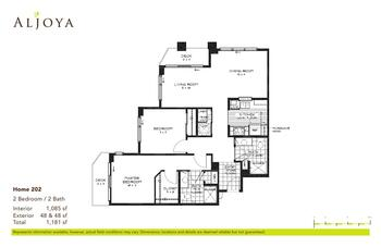 Floorplan of Aljoya Thornton Place, Assisted Living, Nursing Home, Independent Living, CCRC, Seattle, WA 3