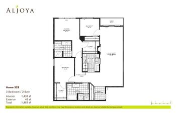 Floorplan of Aljoya Thornton Place, Assisted Living, Nursing Home, Independent Living, CCRC, Seattle, WA 4