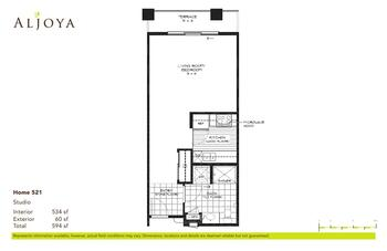 Floorplan of Aljoya Thornton Place, Assisted Living, Nursing Home, Independent Living, CCRC, Seattle, WA 5
