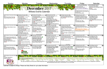 Activity Calendar of GreenFields of Geneva, Assisted Living, Nursing Home, Independent Living, CCRC, Geneva, IL 8
