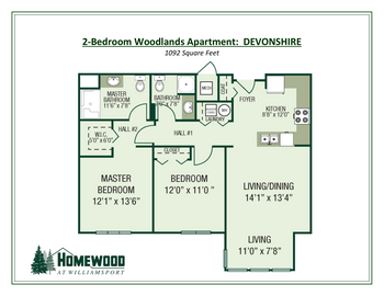 Floorplan of Homewood at Williamsport, Assisted Living, Nursing Home, Independent Living, CCRC, Williamsport, MD 15