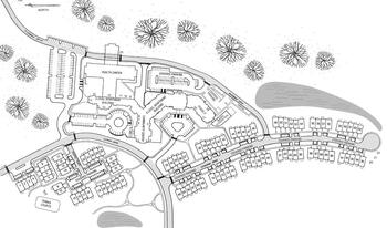 Campus Map of Westminster at Lake Ridge, Assisted Living, Nursing Home, Independent Living, CCRC, Lake Ridge, VA 2