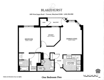 Floorplan of Blakehurst, Assisted Living, Nursing Home, Independent Living, CCRC, Towson, MD 4