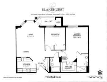 Floorplan of Blakehurst, Assisted Living, Nursing Home, Independent Living, CCRC, Towson, MD 6