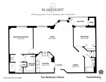 Floorplan of Blakehurst, Assisted Living, Nursing Home, Independent Living, CCRC, Towson, MD 7