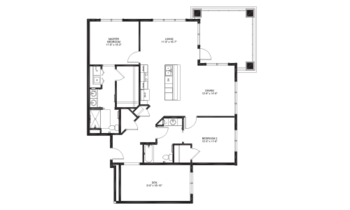 Floorplan of Lakewood, Assisted Living, Nursing Home, Independent Living, CCRC, Richmond, VA 3