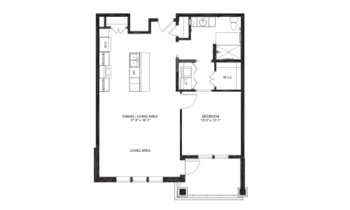 Floorplan of Lakewood, Assisted Living, Nursing Home, Independent Living, CCRC, Richmond, VA 7