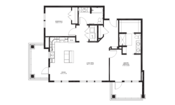 Floorplan of Lakewood, Assisted Living, Nursing Home, Independent Living, CCRC, Richmond, VA 16