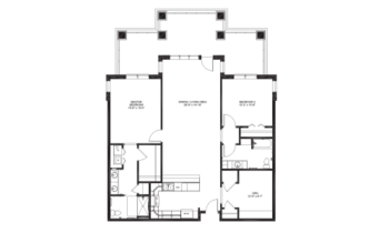 Floorplan of Lakewood, Assisted Living, Nursing Home, Independent Living, CCRC, Richmond, VA 18