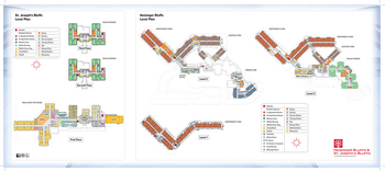 Campus Map of Heisinger Bluffs, Assisted Living, Nursing Home, Independent Living, CCRC, Jefferson City, MO 1