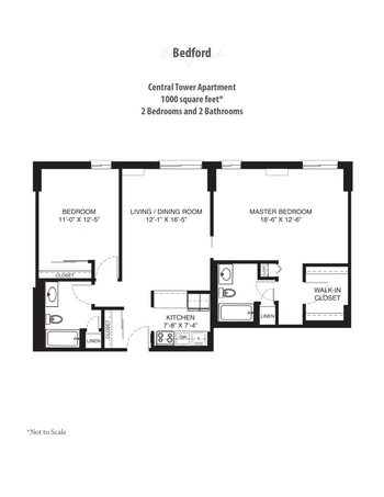 Floorplan of Saint John on the Lake, Assisted Living, Nursing Home, Independent Living, CCRC, Milwaukee, WI 6