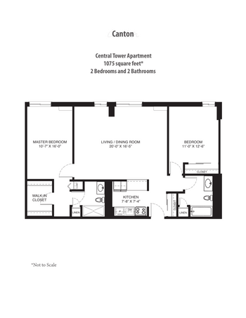 Floorplan of Saint John on the Lake, Assisted Living, Nursing Home, Independent Living, CCRC, Milwaukee, WI 16