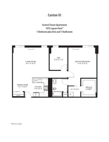 Floorplan of Saint John on the Lake, Assisted Living, Nursing Home, Independent Living, CCRC, Milwaukee, WI 17