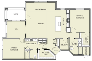 Floorplan of Patriots Colony, Assisted Living, Nursing Home, Independent Living, CCRC, Williamsburg, VA 1