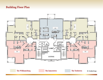 Floorplan of Patriots Colony, Assisted Living, Nursing Home, Independent Living, CCRC, Williamsburg, VA 7