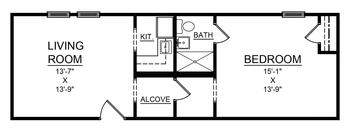 Floorplan of Bethea Retirement Community, Assisted Living, Nursing Home, Independent Living, CCRC, Darlington, SC 5