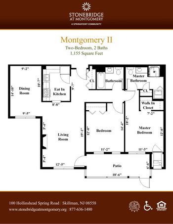 Floorplan of Stonebridge at Montgomery, Assisted Living, Nursing Home, Independent Living, CCRC, Skillman, NJ 7