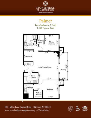 Floorplan of Stonebridge at Montgomery, Assisted Living, Nursing Home, Independent Living, CCRC, Skillman, NJ 8
