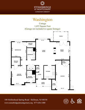 Floorplan of Stonebridge at Montgomery, Assisted Living, Nursing Home, Independent Living, CCRC, Skillman, NJ 10