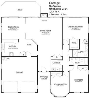 Floorplan of Touchmark on South Hill, Assisted Living, Nursing Home, Independent Living, CCRC, Spokane, WA 6