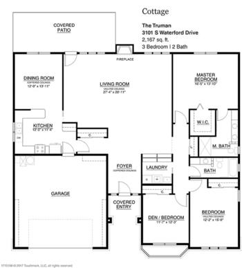 Floorplan of Touchmark on South Hill, Assisted Living, Nursing Home, Independent Living, CCRC, Spokane, WA 8