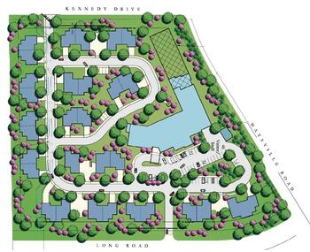 Campus Map of Golden Years, Assisted Living, Nursing Home, Independent Living, CCRC, Fort Wayne, IN 1