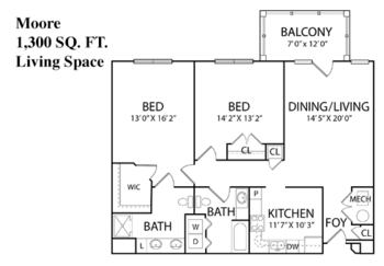 Floorplan of Carroll Lutheran Village, Assisted Living, Nursing Home, Independent Living, CCRC, Westminster, MD 1