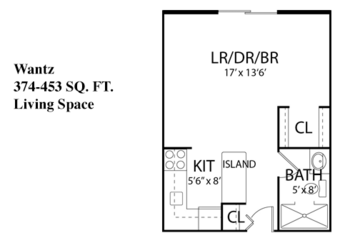 Floorplan of Carroll Lutheran Village, Assisted Living, Nursing Home, Independent Living, CCRC, Westminster, MD 13