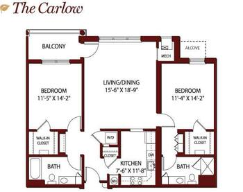 Floorplan of Mercy Ridge, Assisted Living, Nursing Home, Independent Living, CCRC, Timonium, MD 7