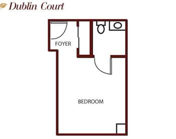 Floorplan of Mercy Ridge, Assisted Living, Nursing Home, Independent Living, CCRC, Timonium, MD 1