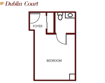Floorplan of Mercy Ridge, Assisted Living, Nursing Home, Independent Living, CCRC, Timonium, MD 2