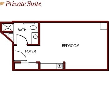 Floorplan of Mercy Ridge, Assisted Living, Nursing Home, Independent Living, CCRC, Timonium, MD 6