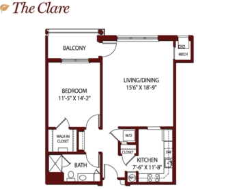 Floorplan of Mercy Ridge, Assisted Living, Nursing Home, Independent Living, CCRC, Timonium, MD 10