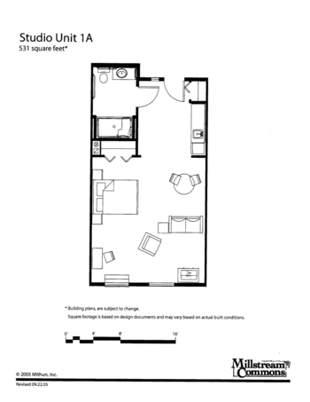 Floorplan of Three Links, Assisted Living, Nursing Home, Independent Living, CCRC, Northfield, MN 1