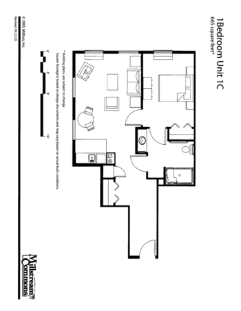Floorplan of Three Links, Assisted Living, Nursing Home, Independent Living, CCRC, Northfield, MN 5