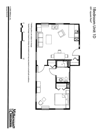 Floorplan of Three Links, Assisted Living, Nursing Home, Independent Living, CCRC, Northfield, MN 6