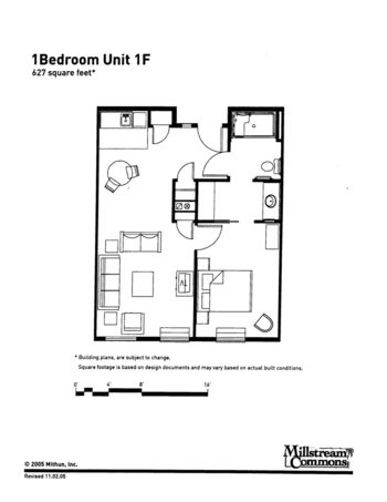 Floorplan of Three Links, Assisted Living, Nursing Home, Independent Living, CCRC, Northfield, MN 8