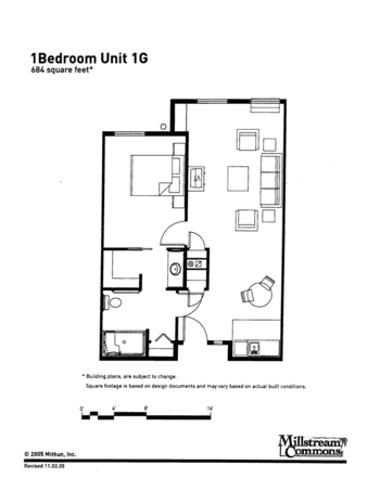 Floorplan of Three Links, Assisted Living, Nursing Home, Independent Living, CCRC, Northfield, MN 9