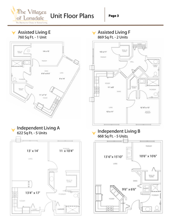 Campus Map of Three Links, Assisted Living, Nursing Home, Independent Living, CCRC, Northfield, MN 3