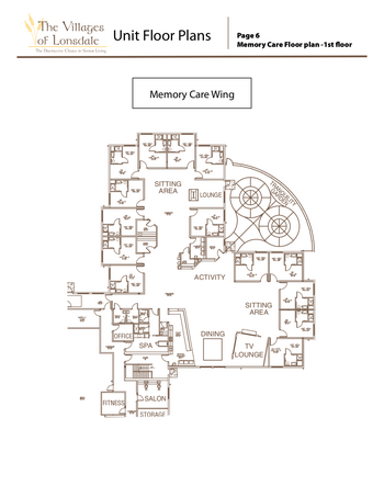 Campus Map of Three Links, Assisted Living, Nursing Home, Independent Living, CCRC, Northfield, MN 6