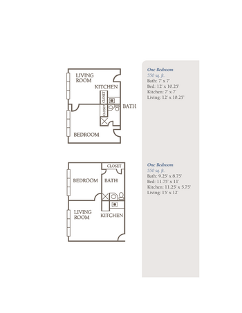 Floorplan of The Groves, Assisted Living, Nursing Home, Independent Living, CCRC, Independence, MO 14