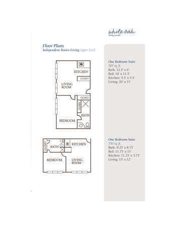 Floorplan of The Groves, Assisted Living, Nursing Home, Independent Living, CCRC, Independence, MO 17