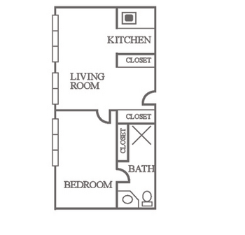 Floorplan of The Groves, Assisted Living, Nursing Home, Independent Living, CCRC, Independence, MO 19