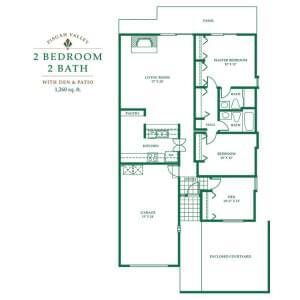 Floorplan of Pisgah Valley, Assisted Living, Nursing Home, Independent Living, CCRC, Candler, NC 1