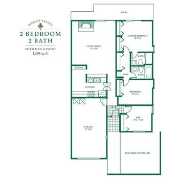 Floorplan of Pisgah Valley, Assisted Living, Nursing Home, Independent Living, CCRC, Candler, NC 2