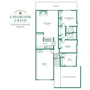Floorplan of Pisgah Valley, Assisted Living, Nursing Home, Independent Living, CCRC, Candler, NC 3