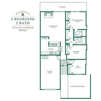 Floorplan of Pisgah Valley, Assisted Living, Nursing Home, Independent Living, CCRC, Candler, NC 4