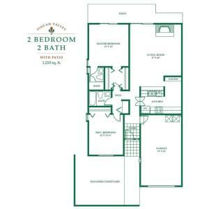Floorplan of Pisgah Valley, Assisted Living, Nursing Home, Independent Living, CCRC, Candler, NC 5