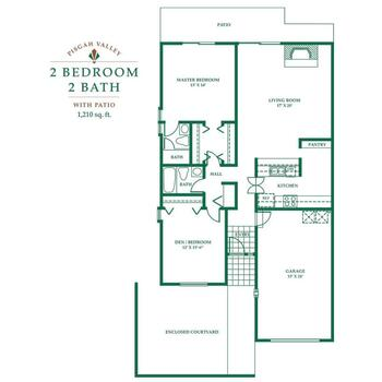 Floorplan of Pisgah Valley, Assisted Living, Nursing Home, Independent Living, CCRC, Candler, NC 6
